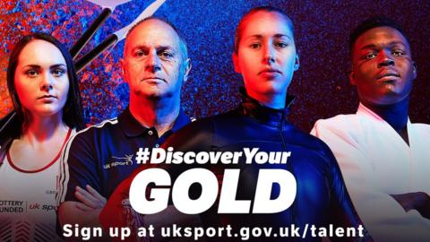 Sir Steve Redgrave and Lizzy Yarnold help launch the #DiscoverYour Gold campaign
