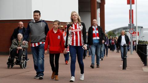 Stoke fans