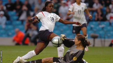 Aluko has scored 33 goals for England in over 100 appearances