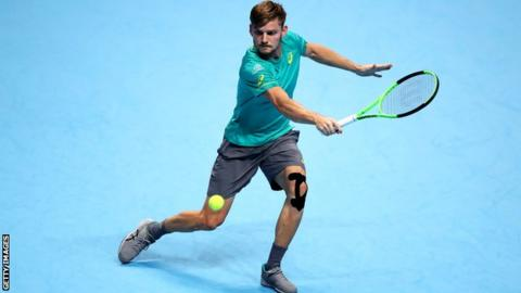 ATP Finals: David Goffin stuns Roger Federer in semi-final