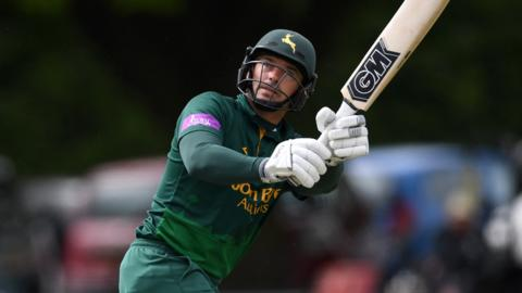 Michael Lumb's century was his ninth in limited-over cricket