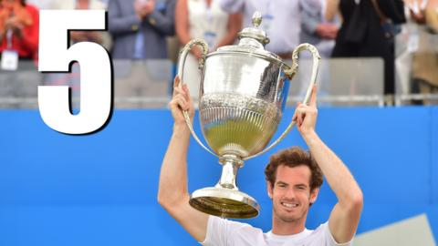 Andy Murray wins fourth Queen's title with two wins in a day
