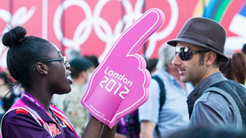 Volunteer at London 2012 Olympics
