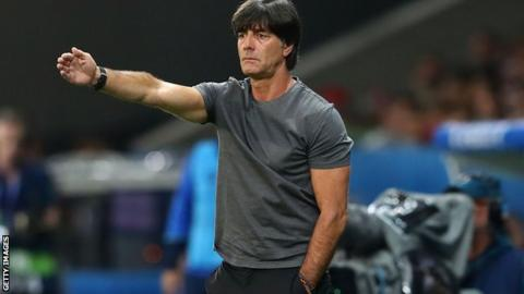 Joachim Löw has apologised after sniffing his balls