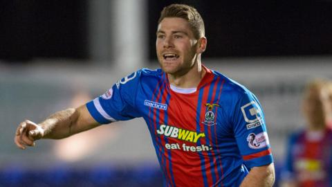 Inverness CT midfielder Iain Vigurs