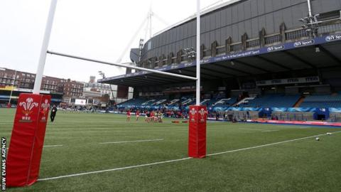 Cardiff Arms Park is next to Principality Stadium in Cardiff city centre