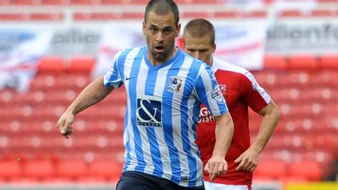 Coventry City's on-loan Aston Villa midfielder Joe Cole