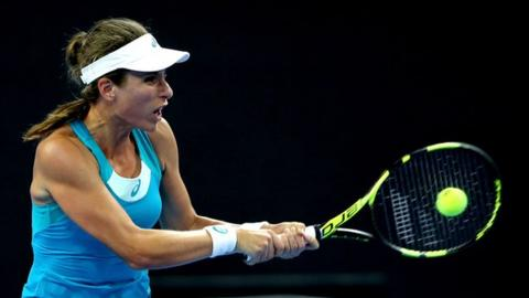 Johanna Konta splits from coach Fissette after less than a year