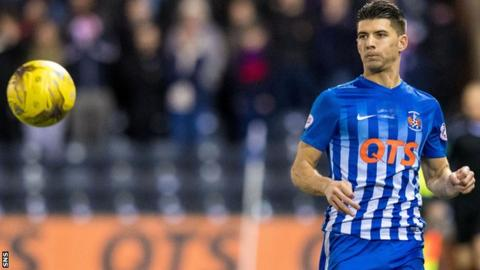 Kilmarnock winger Jordan Jones