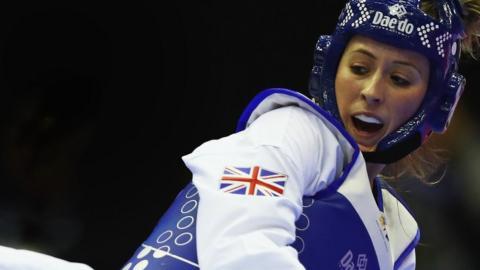 Jade Jones of Great Britain
