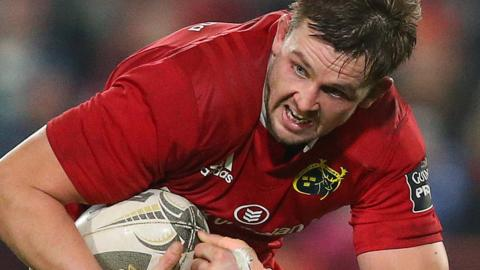 Dave Foley is moving to the Top 14 after seven years in the Munster side