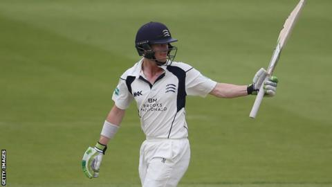 Nick Gubbins' previous highest score for Middlesex was his 141 against Sussex in the One-Day Cup in 2015