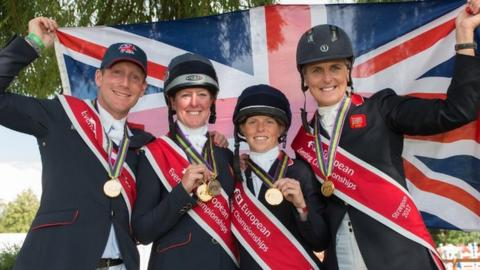 Great Britain's eventers