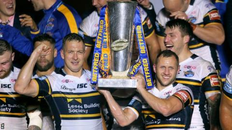Leeds beat Castleford to win eighth Grand Final