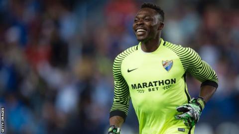 Former Cameroon goalkeeper Idriss Carlos Kameni