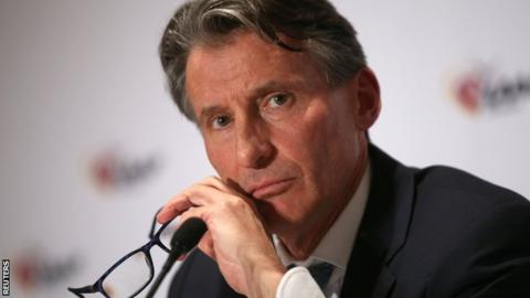 Sebastian Coe 'cannot guarantee' drug-free World Athletics Championships