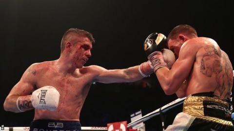 Liam Smith beats Liam Williams at the Manchester Arena