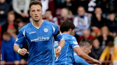 Brad McKay left Hearts at the end of the last season