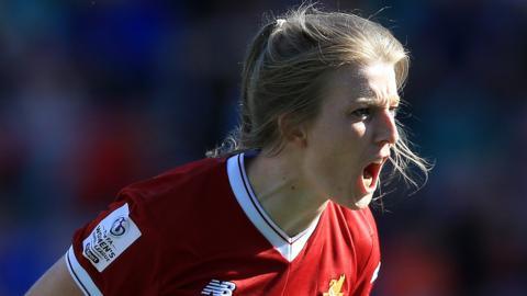 Liverpool's Kate Longhurst