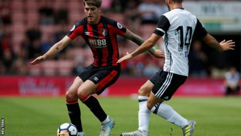 Bournemouth winger Connor Mahoney