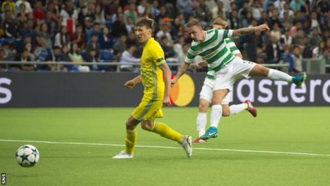 Leigh Griffiths scores