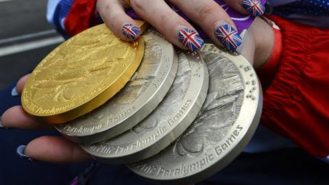 TeamGB medals