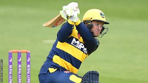 Colin Ingram hits out for Glamorgan