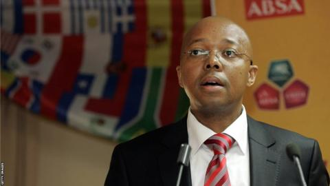 Leslie Sedibe, former South African Football Association chief executive,