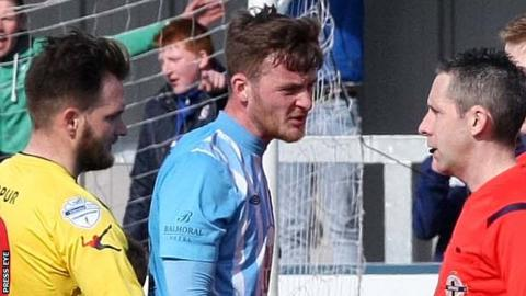 Warrenpoint Town were relegated after a dramatic final day of the season