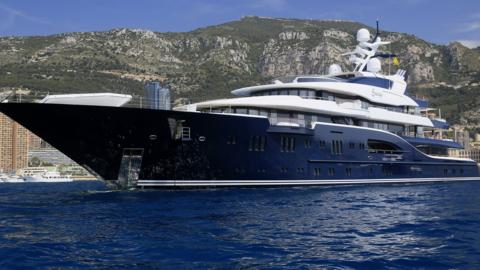 Super-yacht in Monte Carlo