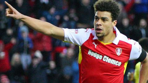 Tom Adeyemi celebrates
