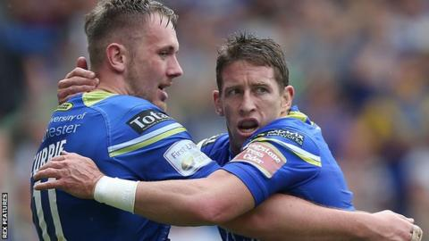 Ben Currie and Kurt Gidley