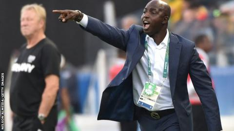 Siasia Gives NFF Two Weeks Ultimatum To Pay His Salaries Or He Will SIT Inside Their Office Till He Gets PAID
