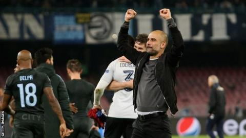UEFA Champions League Report: Napoli v Manchester City, 01 November 2017