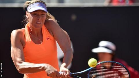 Italian Open win allows Sharapova to qualify for Wimbledon