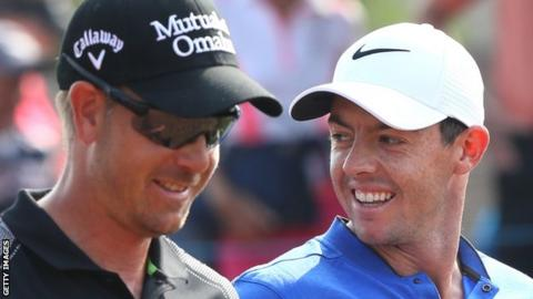 Henrik Stenson and Rory McIlroy