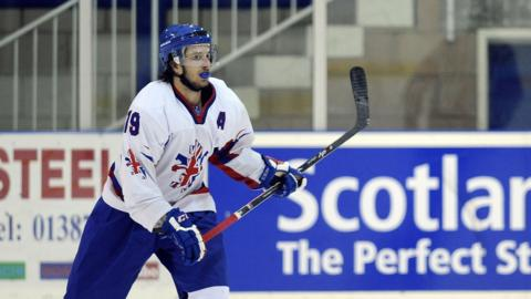 Liam Stewart of Great Britain