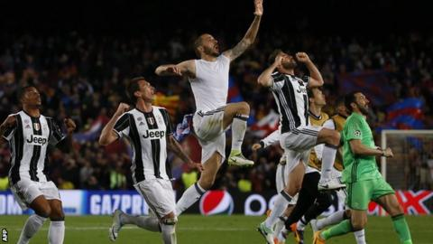 No Barcelona comeback as Juventus reaches Champions League semis