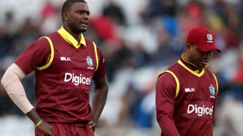 Jason Holder and Marlon Samuels