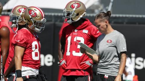 Katie Sowers, NFL's 2nd Female Coach, Is 1st Openly LGBT