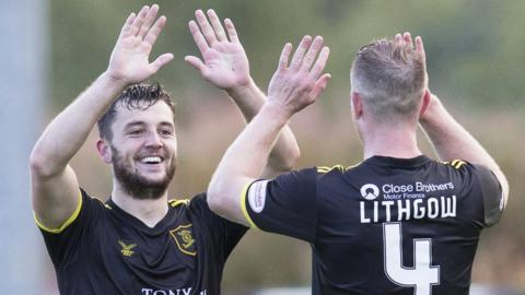 Craig Halkett and Alan Lithgow