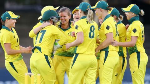 Australia celebrate in Sydney
