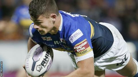 Leeds forward Stevie Ward