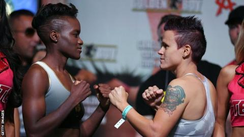 Nicola Adams 'devastated' by cancellation of USA  debut