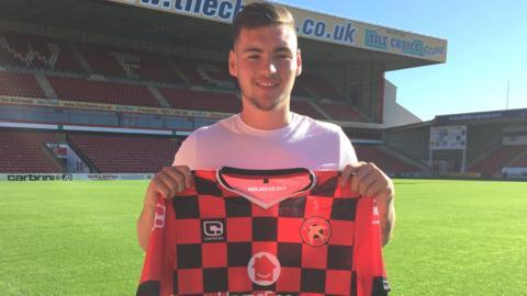 Kevin Toner, Walsall's loan signing from Aston Villa