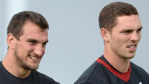 Sam Warburton and George North