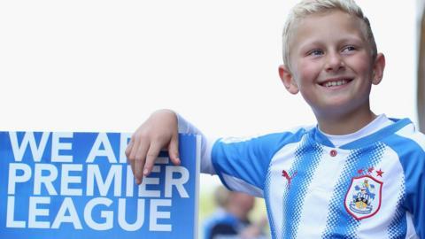 A Huddersield Town fan