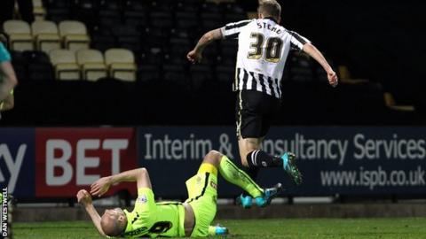 Jon Stead grabs the only goal against Hartlepool