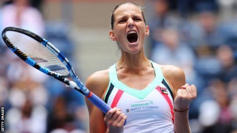 Pliskova races into US Open quarter-finals