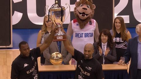 Newcastle Eagles lift BBL Cup